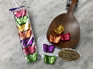 Foiled Chocolate Butterlies
