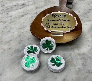 4 ~ Foiled Shamrocks