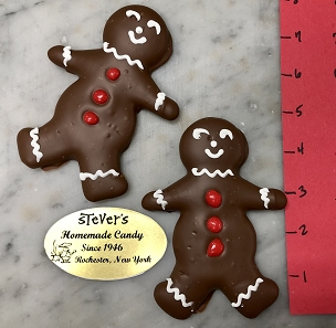 Chocolate Covered Gingergread People