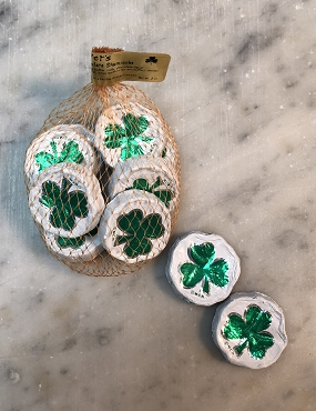 Mesh Bag of Shamrocks