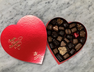 Nutty Assortment Heart