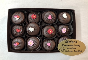 Valentine Decorated Peppermint Patties