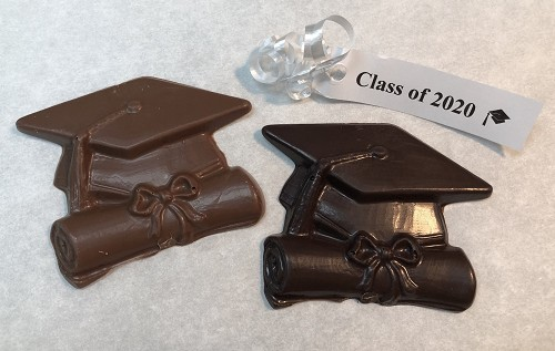Chocolate Grad Cap