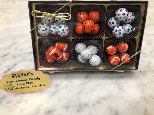 Boxed Sports Balls